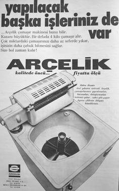 OĞUZ TOPOĞLU : arçelik merdaneli çamaşır makinesi 1975 nostaljik ...