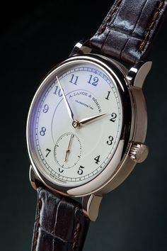 A. Lange & Söhne 1815 Anniversary Of F.A. Lange In Honey Gold Watches & Wonders 2015 Side 3