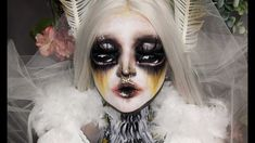 🎨White Moth Makeup Tutorial