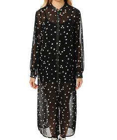星柄ロングシャツ(シャツ/ブラウス)|DURAS(デュラス)のファッション通販 - ZOZOTOWN