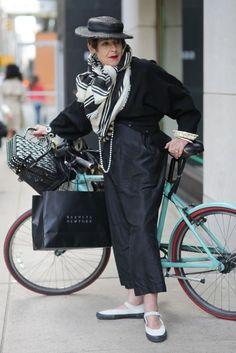 Bicycle Muse: Tziporah Salamon