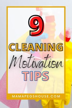 Do you sometimes feel ovewhelmed when you have a huge list of things to clean and organise? We have the best claning motivation tips to get your home sparkling in now time! | best cleaning… More Cleaning Schedule Templates, House Cleaning Checklist, Fall Cleaning, Cleaning Hacks, Cleaning Supplies, Housekeeping Tips, Best Cleaning Products, Pep Talks, Motivate Yourself