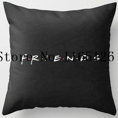 Hot Sale Popular TV Show Friend Simple Style Nice Throw Square Pillow Cover Creative Personalized Soft Unique Pillowcase Throw Pillow Cases, Throw Pillows, Cushion Pillow, Friends Merchandise, Friend Birthday, 12th Birthday, Birthday Gifts, I Love My Friends, Tv Decor