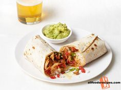 Chipotle Chicken Burritos – It's a trendy burritos recipe for an easy grab and go meal which is packed with chicken and rice.    RECIPE : http://www.allfoodsrecipes.com/recipe/chipotle-chicken-burritos/