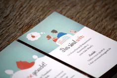 Detail Visitenkarte Haussuche, individualisierbare Vorlagen