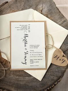 A fab font can be the perfect design feature for wedding invitations - check out some gorgeous options here...