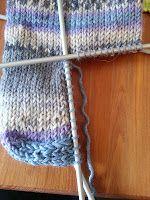 Strikk til flappen er 5 cm høy (str eller 6 cm høy (str Er 5, Knitting Patterns, Diy And Crafts, Projects To Try, Socks, Fingers, Blog, Tricot, Masks