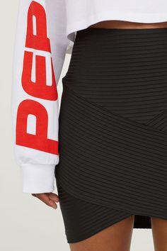 Fustă mulată - Negru - FEMEI | H&M RO 2