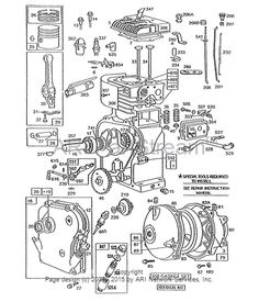 47 best small engine troubleshoot and fix images on pinterest find replacement repair parts for briggs stratton engines fandeluxe Choice Image