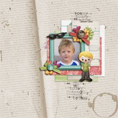 Kit: Yesterday, Today and Tomorrow by Kristin Aagard Designs http://the-lilypad.com/store/digital-scrapbooking-kit-yesterday.html