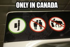Things you only get to see in Canada…