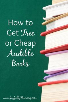 How to Get Free or Cheap Audible Books the Surprisingly Easy Way - Kids Audio Books - ideas of Kids Audio Books - I love to read so this is amazing! I love knowing how to get free or cheap Audible books. And it really works! Audio Books For Kids, Best Money Saving Tips, Saving Money, Finance Books, Finance Tips, Book Lists, Free Ebooks, Making Ideas, Book Worms