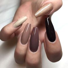 How To Do Gel Nails At Home: The Fullest Guide Nails gel nail extensions Gel Manicure Nails, Gel Nail Tips, Gel Nails At Home, My Nails, Fall Nails, Glitter Nails, Summer Nails, Nail Lacquer, Nail Polish