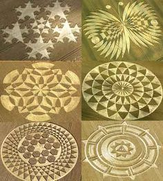 crop circle | Very complicated crop circles patterns ( crop circles pictures ):