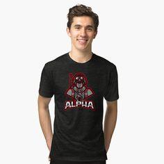 'Boku no Hero Academia Logo' Tri-blend T-Shirt by Psg, Loose Fit, Vintage T-shirts, Proud Dad, Love Design, Red Design, Design Ideas, Graphic Design, Best Dad
