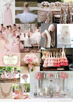 Ideas e inspiración para decorar una boda en tonos rosas