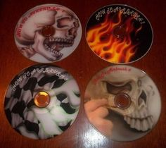 How-To-Airbrush-Flames-Skulls-and-More-5-DVDs