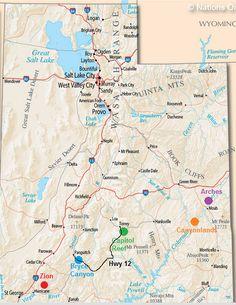 Utah National Parks, Scenic Hwy 12