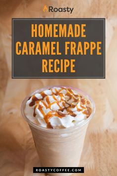 Take this Mcdonalds copycat recipe to the kitchen for the days you're looking for an extra treat. Add as much caramel as you'd like - pretty sure Mcdonalds uses copious amounts in theirs! This homemade frappe is the caffeine kick you need... why not make it now?! // coffee // recipe coffee // diy coffee // recipes with coffee // coffee recipes // at home coffee recipes // delicious coffee // Caramel Frappe Recipe, Latte Recipe, Coffee Drink Recipes, Coffee Drinks, Homemade Frappe, Coffee Brownies, Hamburger And Fries, Caramel Treats, Vietnamese Iced Coffee