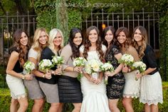 Coordinated Lace - Modest Bridesmaids