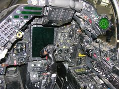 SEPECAT Jaguar GR3A cockpit.