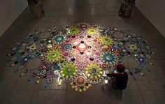 Crystal floor by Susan Drumman