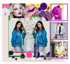 """""""We love 80's !!"""" by styleitsmypassion on Polyvore featuring Topshop, Bobbi Brown Cosmetics, tenoverten and NYX"""
