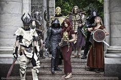 Elder Scrolls cosplay....