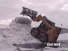 Skid steers do a lot more than lift and load. You'll quickly see why these highly versatile machines make you more productive on just about any job site. Safety Training, Skid Steer Loader, Heavy Equipment, Crane, Tube, Construction, Photography, Building, Photograph