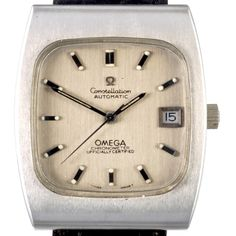 Since 1952 the Omega Constellation has been among the highest level of Luxurious and precise watches. On the dial the name Constellation is on top of a Gold Star. On the back of the case we find the famous medallion featuring an observatory crowned by a Constellation of eight stars, evoking the numerous exploits of Omega in word chronometer competition.
