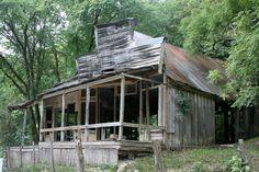 Rush Ghost Town: Buffalo National River, Arkansas -  Read more: http://www.smithsonianmag.com/travel/abandoned-settlements-hidden-inside-national-parks-