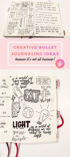 Not all Business: Bullet Journaling Ideas http://productiveandpretty.com/bullet-journaling-ideas/?utm_campaign=coschedule&utm_source=pinterest&utm_medium=Productive%20and%20Pretty&utm_content=Not%20all%20Business%3A%20Bullet%20Journaling%20Ideas