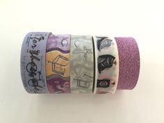 Super Sales (5 rolls) Washi Masking Tape by CharmTape on Etsy