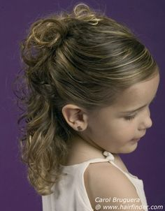 First Communion Hairstyle 3