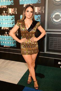 Tutti i look sul red carpet degli MTV Video Music Awards 2015 -cosmopolitan. Jojo Levesque, Demi Lovato, Nicki Minaj, Jojo Singer, Fit Women, Sexy Women, Non Blondes, Weird Fashion, Great Legs