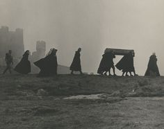 Film still from Hamlet, a 1964 film adaptation in Russian of William Shakespeare's play of the same title, based on a translation by Boris Pasternak. It was directed by Grigori Kozintsev and Iosif Shapiro