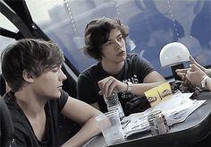 That's some hard staring Louis