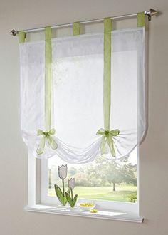 Uphome 1pcs Cute Bowknot Tie-Up Roman Curtain - Tab Top S... https://www.amazon.com/dp/B010FJ9J5C/ref=cm_sw_r_pi_dp_61PNxbDM9G69B