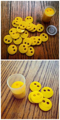 Smilies to leave when you get a smilie!  These would be cute geocaching swag.  #IBGCp