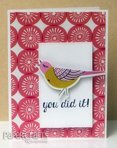 You Did It Scandinavian Inspired card by Kim Kesti - Paper Crafts & Scrapbooking blog