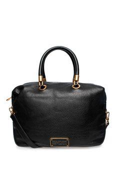 Handväska New Too Hot Handle TZ Satchel BLACK/GOLD - Marc by Marc Jacobs - Designers - Raglady