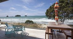 On the Beach - Whangamata, Coromandel - Setting