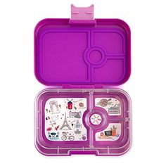 Yumbox Panino is leak proof bento box with cute 4 compartment. Perfect for school.Shop your Yumbox Original · Yumbox Panino · Yumbox Tapas · Yumbox MiniSnack at Bambino Love. Toddler Meals, Kids Meals, Healthy Toddler Muffins, Mini Snacks, Vegetable Muffins, Yogurt, Lunch Box With Compartments, Lunch Box Containers, Insulated Bags