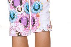 our jewel print capri for spring 2014