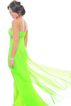 neon colored prom dresses