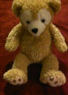 Disney Duffy Bear Hidden Mickey Plush Tan (H2) Teddy