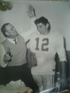 Coach Bryant and Joe Namath - What a pair!