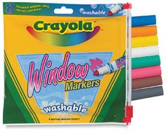 Crayola Window FX Markers - use on Zoey's mirror to write reminders for self care checklist Coloring For Kids, Coloring Books, Window Markers, Sliding Glass Door, Glass Doors, Child Smile, Painting For Kids, Kids Decor, Have Fun