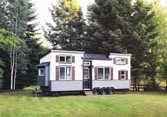 The Pacific Pearl: a beautiful 28' x 8.5' tiny home from Handcrafted Movement.