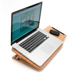 Adjustable Laptop Stand, $28, now featured on Fab.